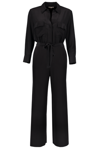 Full Length Front Image Teddy Jumpsuit