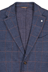 Front Detail Image of L.B.M. 1911 Plaid Sportcoat