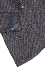 Hemline and sleeve detail image of L.B.M. 1911 Plaid Sportcoat