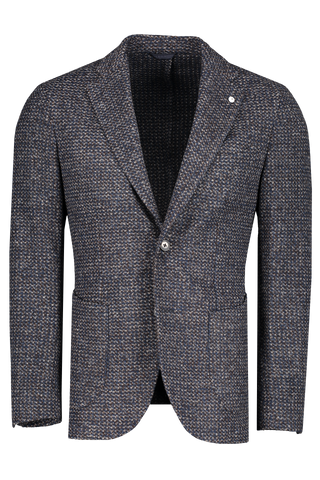 Front image of L.B.M. 1911 Plaid Sportcoat