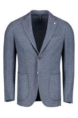 Front image of L.B.M. 1911 Men'sTextured Weave Wool Sportcoat