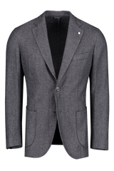 Front image of L.B.M. 1911 Textured Wool Sportcoat