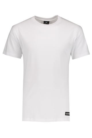 Front Image LES (ART)ISTS Short Sleeve Football Raf 68 T-Shirt In White