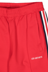 Waist Detail Image of LES (ART)ISTS Taiwan Pant In Red