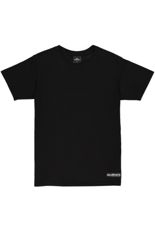 Short Sleeve Football Tee Black