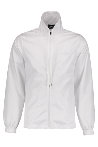 Front Image of LES (ART)ISTS Zipped Shanghai Jacket In White