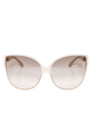 SUNGLASSES MILKY PINK/ROSE GOLD/LIGHT GRAD