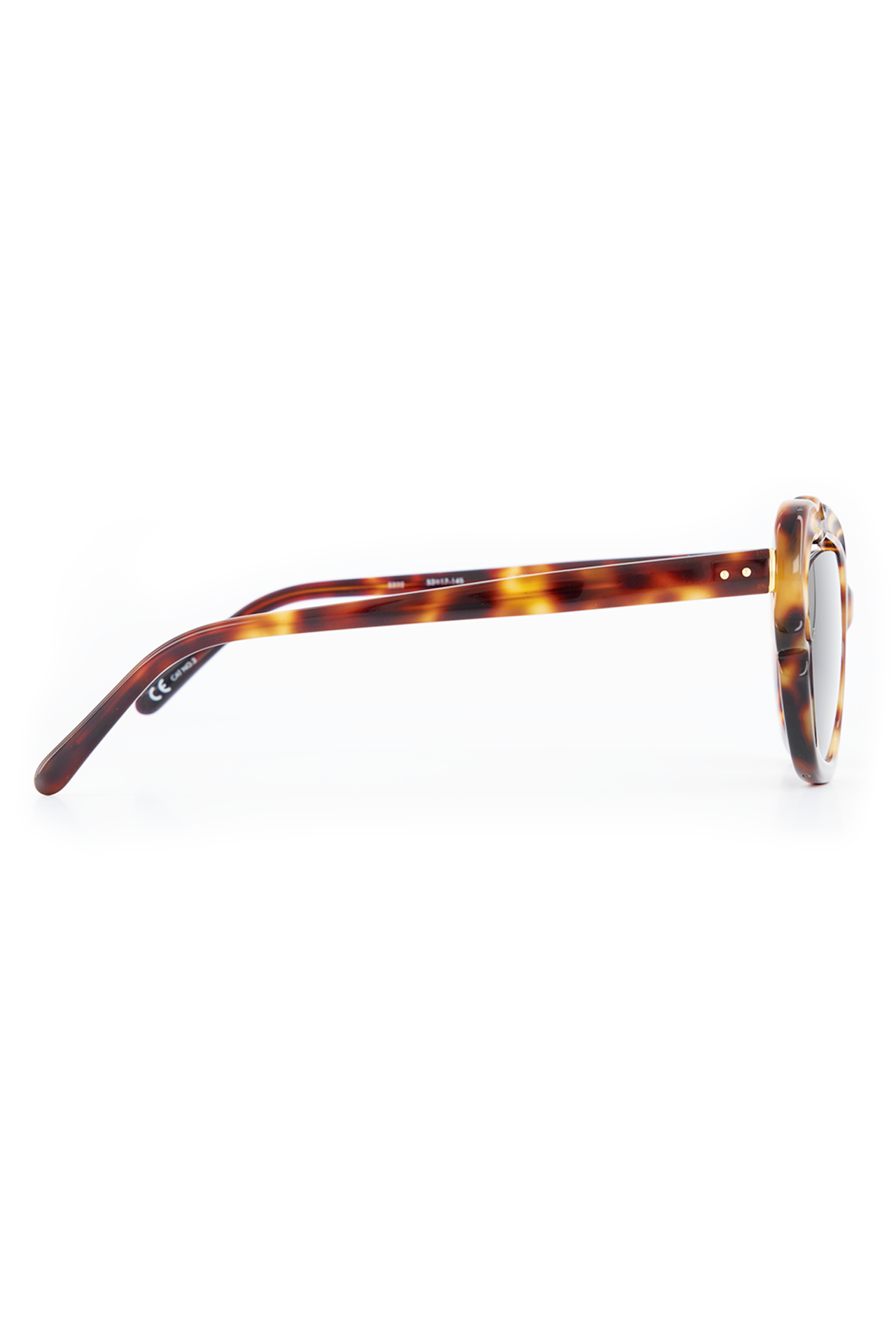 Sunglasses T-Shell/Yellow Gold/Brown
