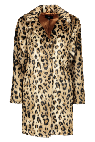 Front view image of Line Gisela Coat Ocelot