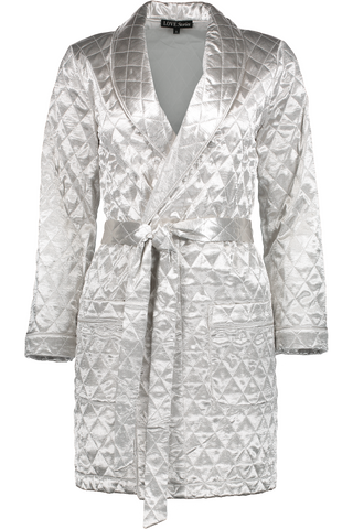 Ritz Robe In Silver