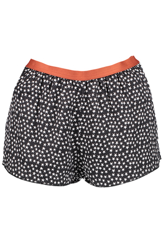 EDIE PAJAMA SHORT BLACK