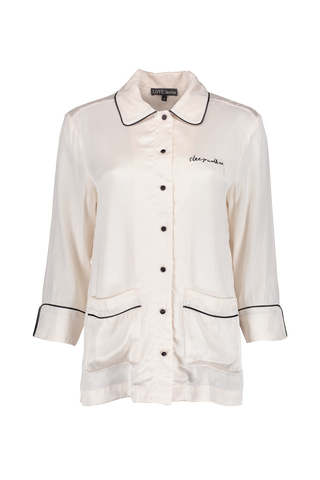 JOE PAJAMA TOP WHITE