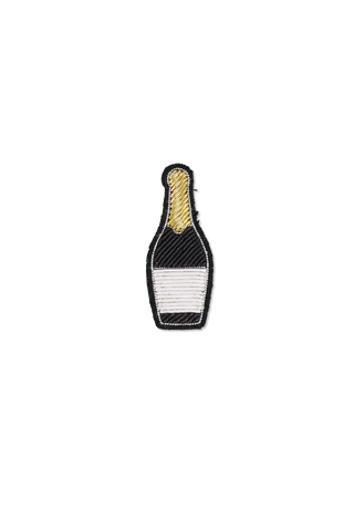 Image of Macon & Lesquoy Champagne Bottle Pin