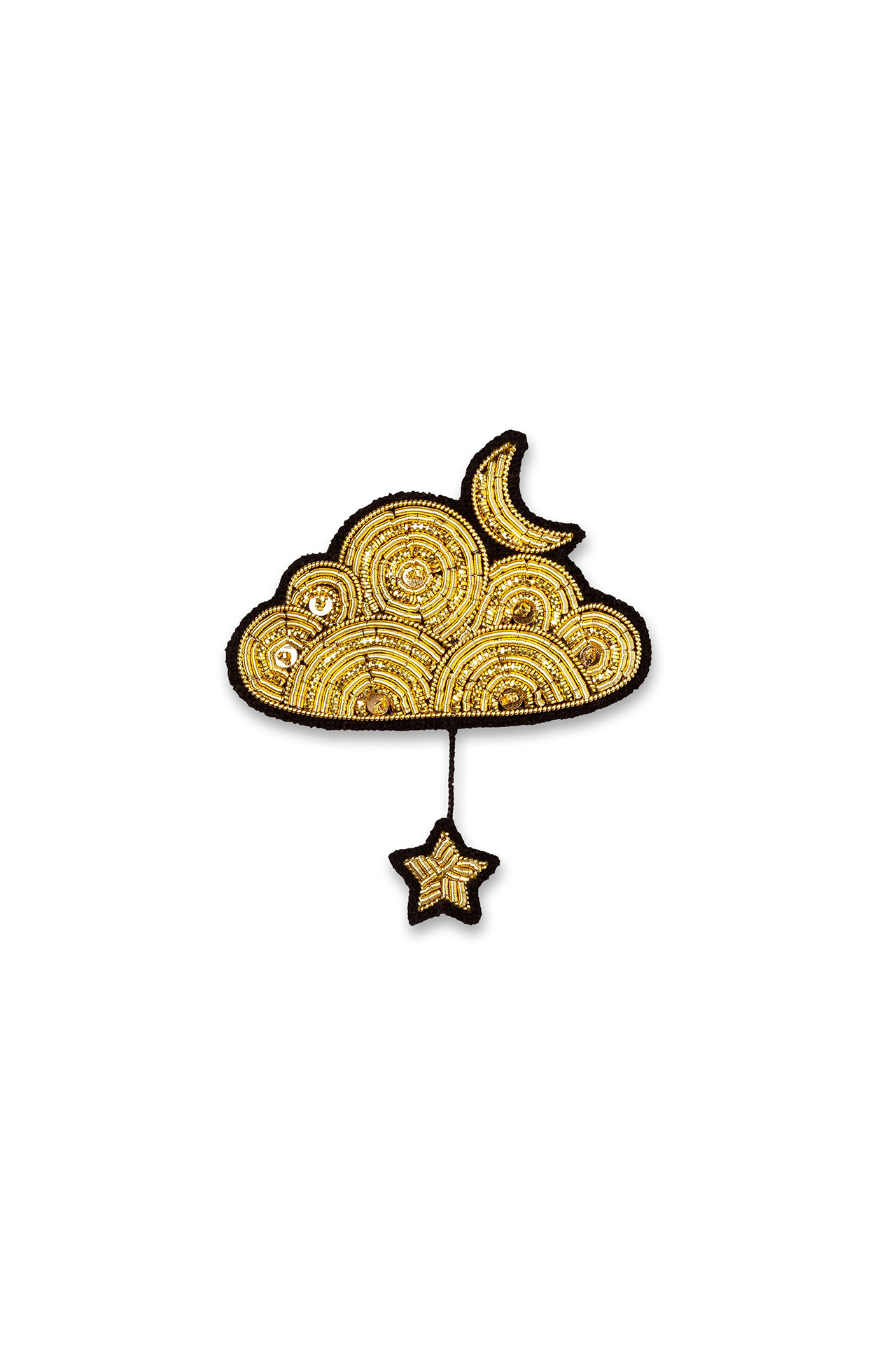 Cloud Moon Star Large Pin