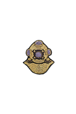 Front Image Diving Suit Pin