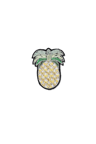 Image of Macon & Lesquoy Gold Pineapple Pin