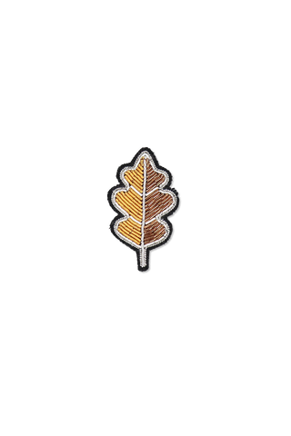 Image of Macon & Lesquoy Oak Leaf Pin