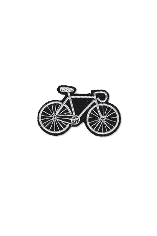 Image of Macon & Lesquoy Silver Bike Pin