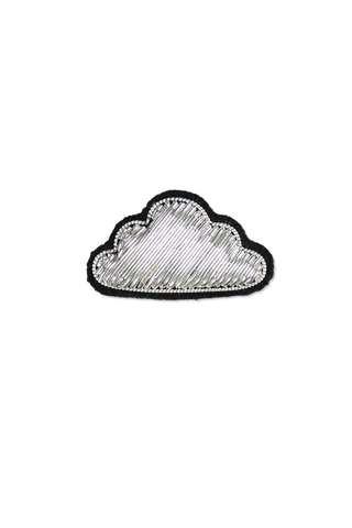 Image of Macon & Lesquoy Silver Cloud Pin