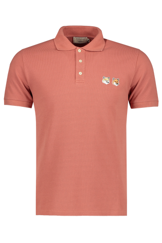 Double Fox Polo Dark Pink