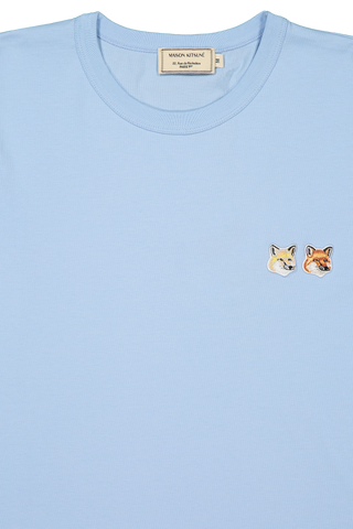 Double Fox T-Shirt Light Blue