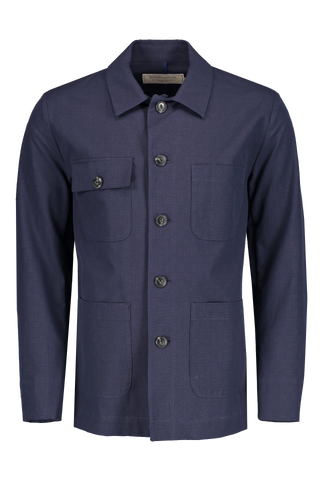 Small Check Worker Jacket