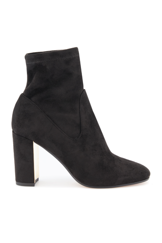 Front image of Marion Parke Women's Kate Stretch Suede 85mm Boot