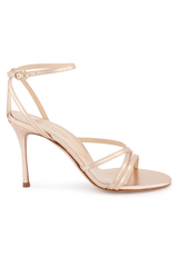 Lillian 85mm Pump Rose Gold