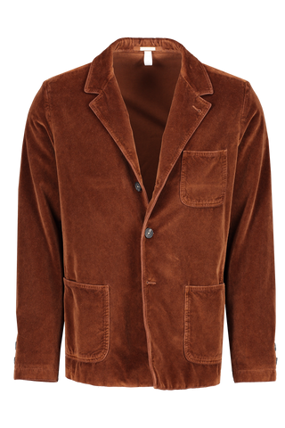 Front image of Massimo Alba Men's Baglietto Cotton Unconstructed Blazer