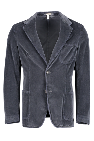Front image of Massimo Alba Men's Benetti2 Cotton Single Breasted Blazer