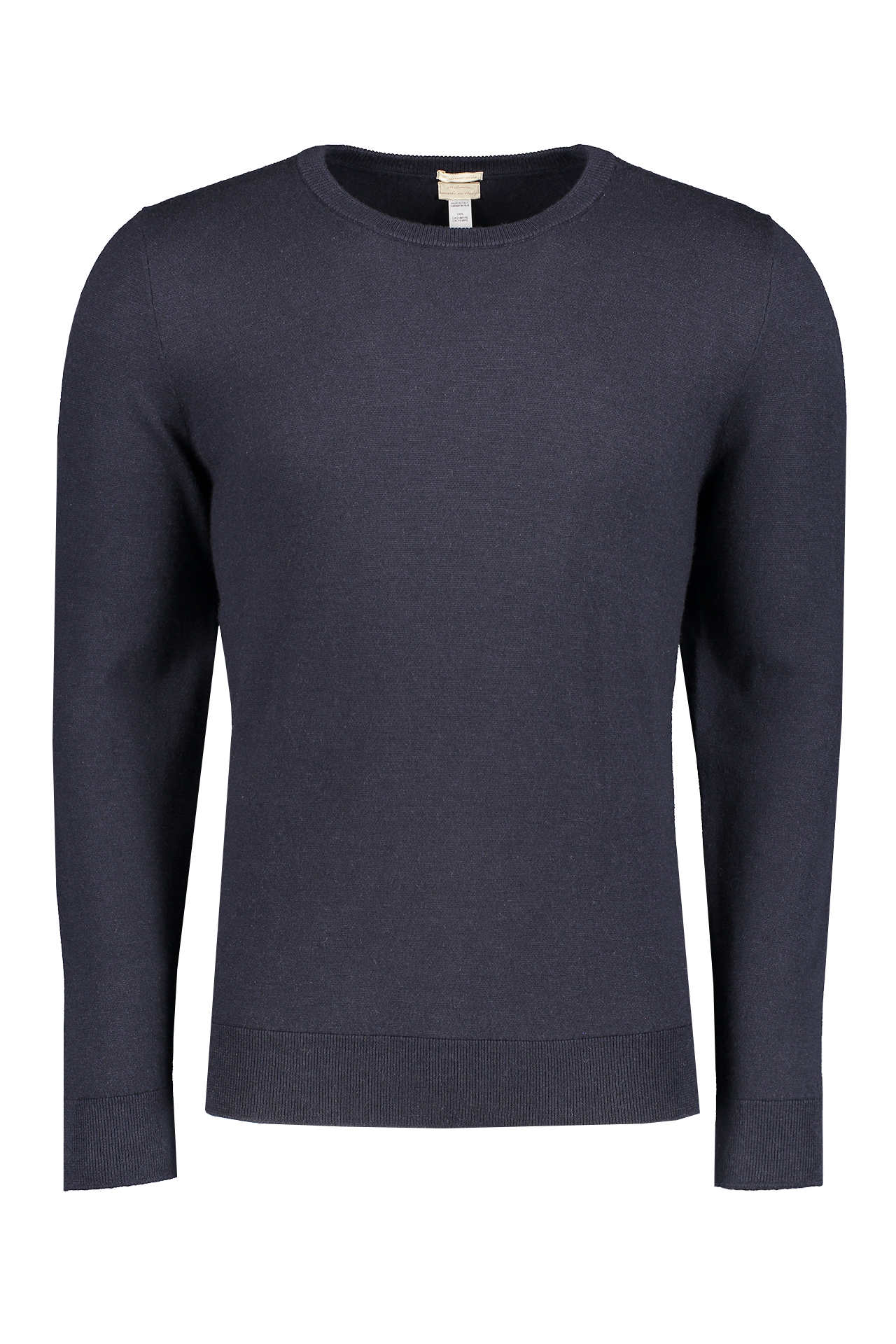 Front image of Massimo Alba Men's Denver Cashmere Crewneck Sweater