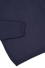 Hemline and sleeve detail image of Massimo Alba Kay Merino Wool Turtleneck