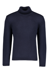 Front image of Massimo Alba Kay Merino Wool Turtleneck