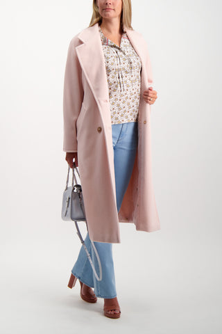 Full Body Image of Model Wearing Max Mara Madame Coat