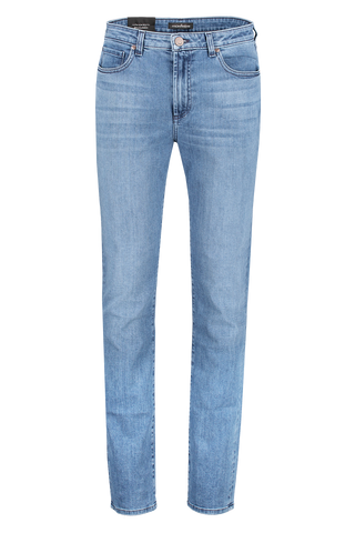 Front Crop Image Of Monfrere Straight Denim Florence