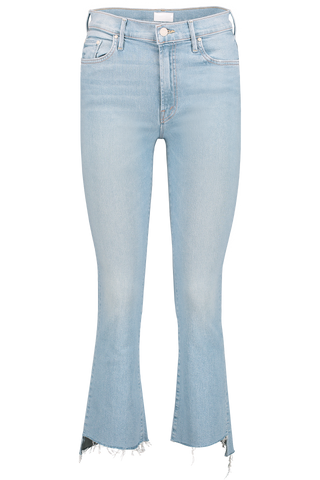 Front image of Mother Denim The Insider Crop Step Fray