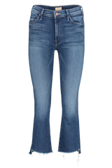Front image of Women's Mother Denim The Insider Crop Step Fray