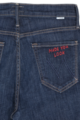Back pocket detail image of Mother Denim Women's The Dazzler Jeans