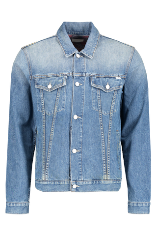 Front image of Men's Mother Denim The Drifter Denim Jacket