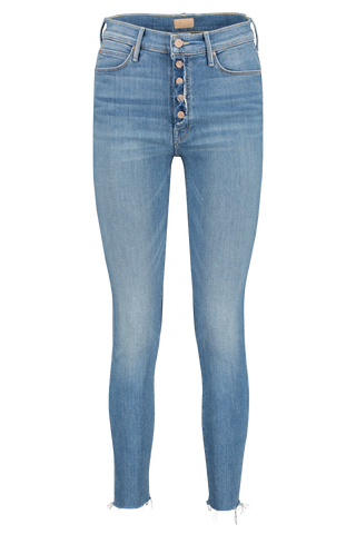 Front image of Mother Denim Women's The Fly Cut Stunner