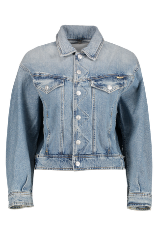 Front Image Of Mother Denim Women's The Flyaway Jacket