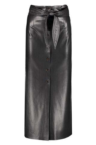 Front view image of Nanushka Afren Vegan Leather Skirt