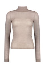Harri Mock-Neck Top