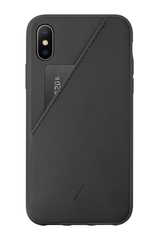 Back image of Native Union Clic Card XS Max iPhone Case Black