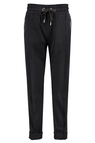 Front image of NO KA'OI Pono Pant Black