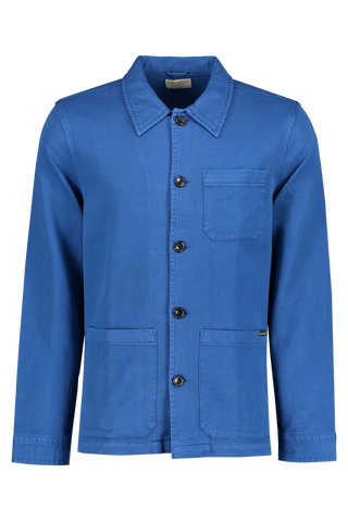 Barney Worker Jacket Blue