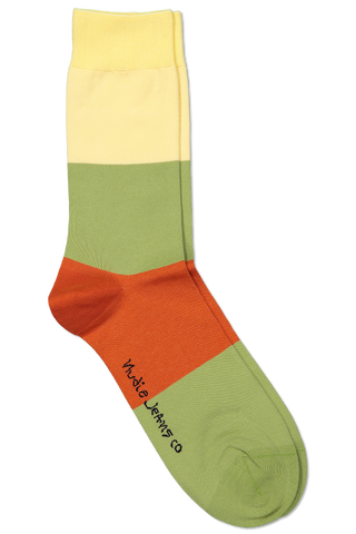 Flat Lay Image Olsson Colors Sock