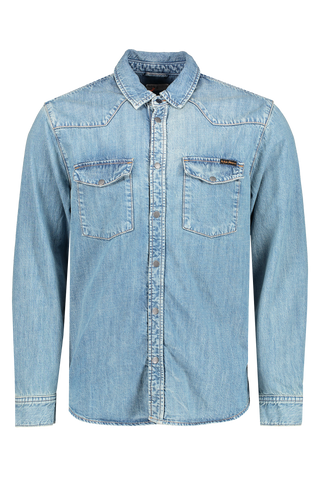 George Light Shade Shirt Denim