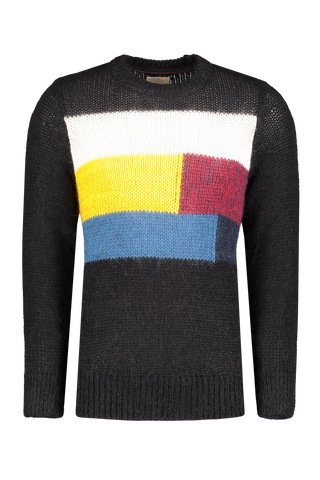 Front image of Nudie Jeans Hampus Patch Knit