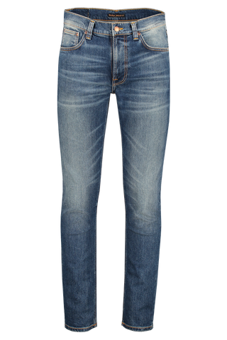 Front view image of Nudie Jeans Lean Dean Indigo Shades